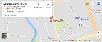 Lexington Ky Zip Code Map by Georgetown Eye Care U0026 Optician Advanced Eye Care Center