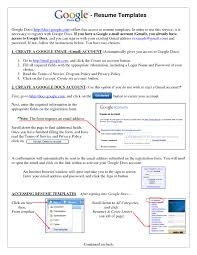 basic resume outlines google google resumes resume template for docs badak sle exles