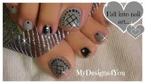8 beautiful gray toe nail art ideas