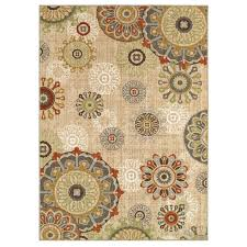 d191 multicolor medallion rug at home at home