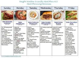 cuisine ww weight watcher meal plan 22 with freestyle smart points