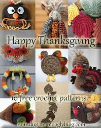 10 free thanksgiving crochet patterns thanksgiving crochet and