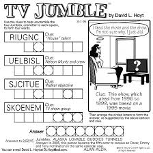 sample of tv jumble square tribune content agency march 1 2015