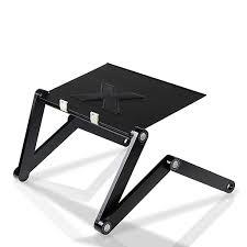 Furinno Adjustable Laptop Desks Furinno Adjustable Multifunctional Laptop Desk Metal Aluminium