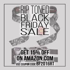 amazon black friday 2016 codes rip toned fitness