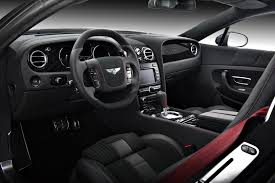 black bentley interior vilner 100 completed bentley continental gt by vilner