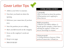 writing cover letter tips 28 images tips for writing a cover