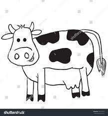 cow cartoon illustration stock vector 542773129 shutterstock