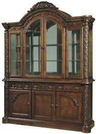 china cabinet upscale furniture solid oak library bookcase china