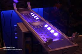 gotek s new led lighting fixture from china news reef builders