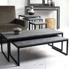 wood nesting coffee table living room nesting tables clear acrylic nesting tables living room