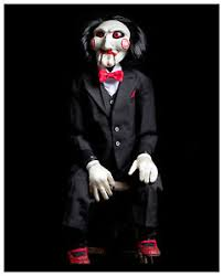 Scary Halloween Decorations Ebay by Licensed Saw Billy Puppet Prop Doll Scary Horror Movie Halloween