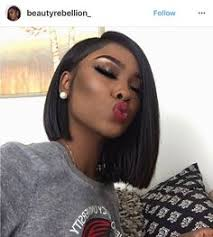 sew in bob hairstyles for black women sew in asymmetrical black bob hairstyles 2017 for straight hair