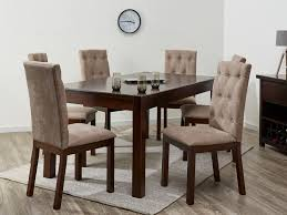 Upholstered Dining Chairs Melbourne by Dining Sets Upholstered Fabric Chairs Whitewash B2c Furniture