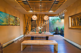 Asian Inspired Dining Room Stock Photo Of Residential Dining Room Stock Photography Archive