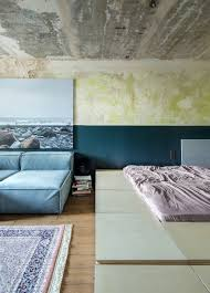industrial studio apartment in kiev by 2b group architects