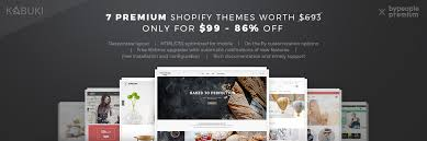 shopify themes documentation 7 premium shopify themes lifetime updates bypeople
