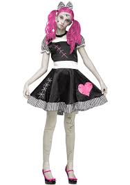 Monster High Doll Halloween Costumes by Teen Scary Broken Doll Costume