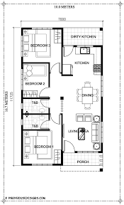 Elevated Bungalow House Plans Ruben Model Is A Simple 3 Bedroom Bungalow House Design With Total