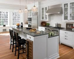 two tier kitchen island two tiered island houzz