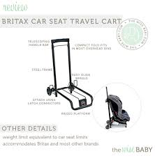 Hawaii car seat travel bag images Britax car seat travel cart review the wise baby jpg