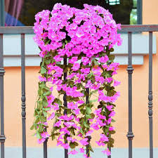 aliexpress com buy romantic artificial flowers hanging orchid
