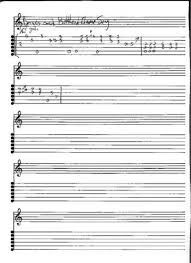 theme song luther guitar tabs