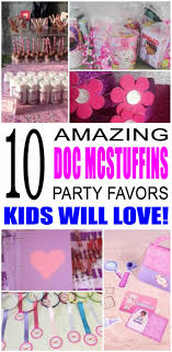 doc mcstuffins party mcstuffins party favor ideas