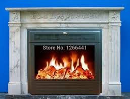Custom Electric Fireplace by Online Get Cheap Marble Electric Fireplace Aliexpress Com