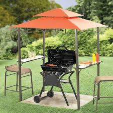 Small Patio Gazebo by Perfect For The Apartment Condo Patio Mini Grill Zebo Gazebos