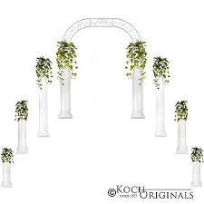wedding arches target wedding package columns wedding arch