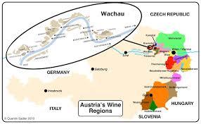 Map Austria Domane Wachau Terrassen Wachau Riesling Federspiel 2015 The Wine
