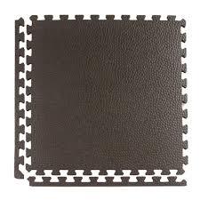 Interlocking Rubber Floor Tiles Greatmats Pebble Top Lite Black 24 In X 24 In X 0 39 In Foam