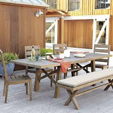 jardine expandable dining table driftwood west elm 999