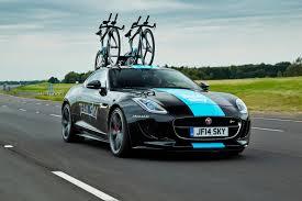 Porsche 911 Bike Rack - jaguar f type coupe puts on bike rack for tour de france video