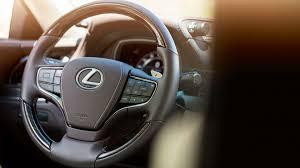 lexus steering wheel logo lexus ls flagship saloon lexus uk