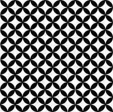 black and white fabric pattern pattern black white free vector graphic on pixabay