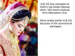 bridal makeup packages kriti ds the makeup artist
