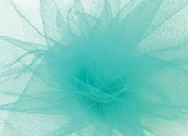 teal tulle teal tulle finerribbon
