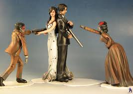black wedding cake toppers wedding cake toppers miniature showcase wyrd forums