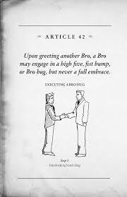 the bro code by barney stinson 2008