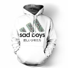 brand hoodie sweatshirt 2017 sad boys love arizona tea 3d printed