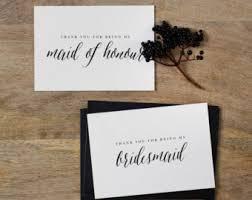 wedding thank you cards etsy dk
