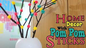 pom pom tree branches how to make pom pom wool craft home