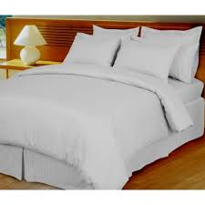 damask stripe down alternative 4 pc comforter set 100 egyptian