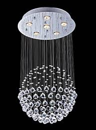 saint mossi chandelier modern crystal raindrop chandelier lighting