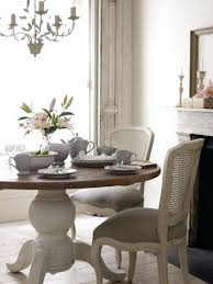 shabby chic round dining table shabby chic dining room furniture ideav club