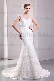 White Wedding Dresses Buy 2017 White Wedding Dresses V Neck Backless Lace Mermaid