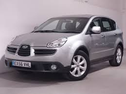 subaru tribeca 2006 interior used silver subaru tribeca for sale hampshire