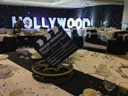 37 stunning table decorations ideas in hollywood theme